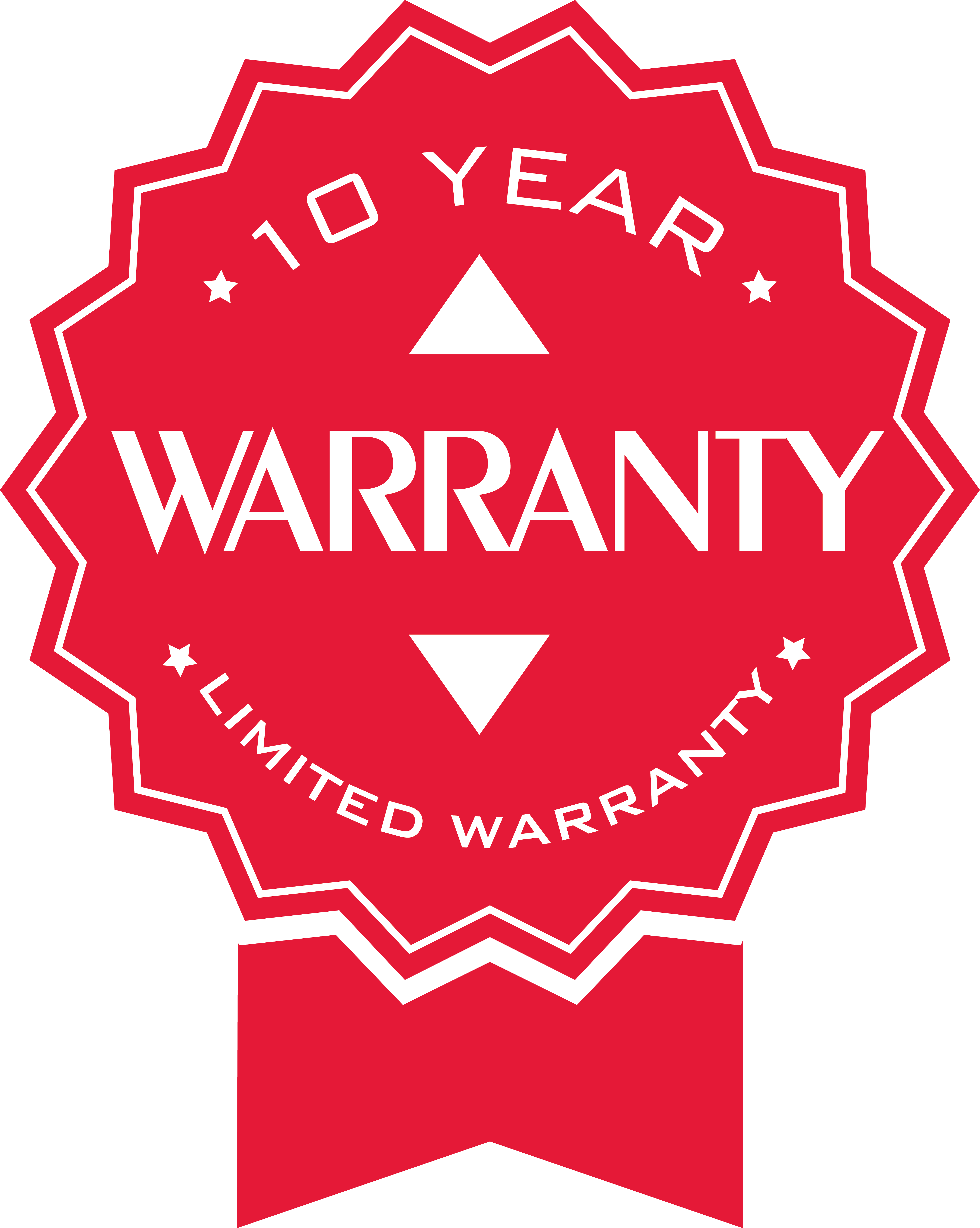 SPI Agricultural Waterer Warranty Badge