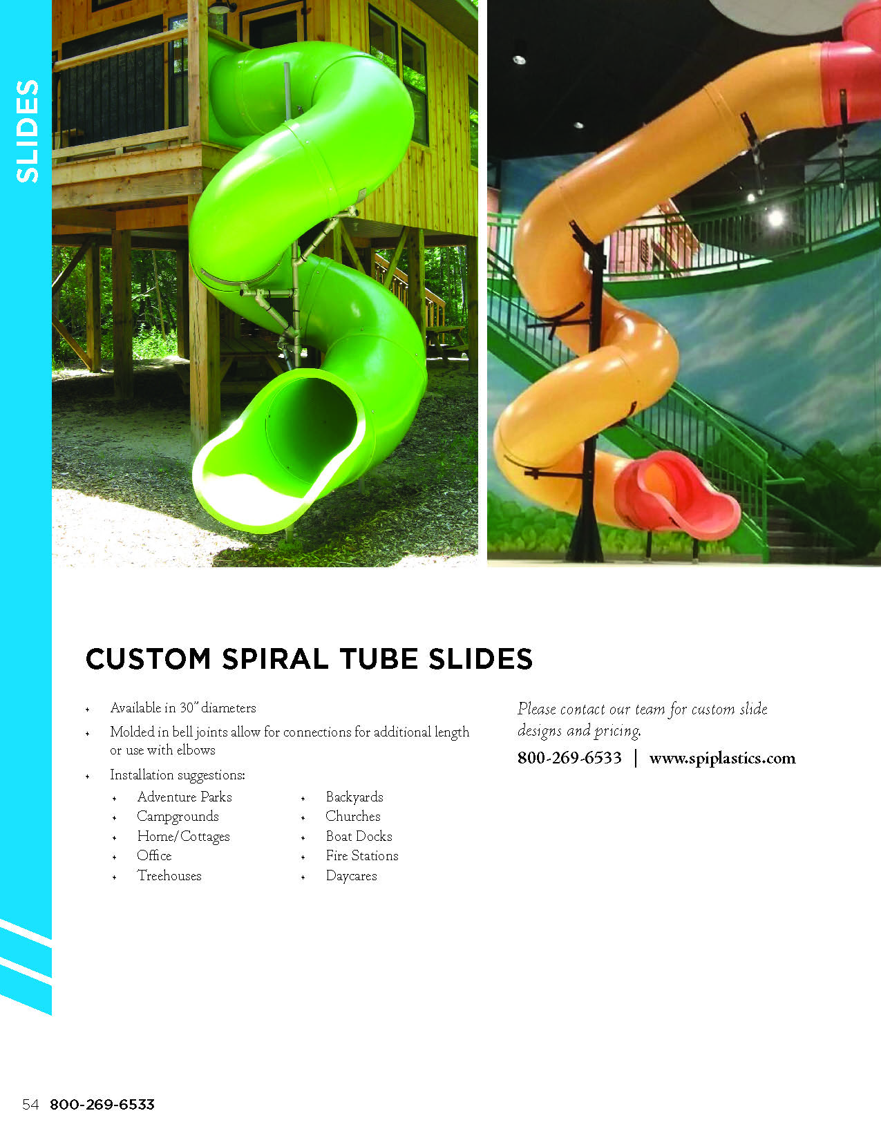 Outdoor Play Online Catalogue - SPI Plastics