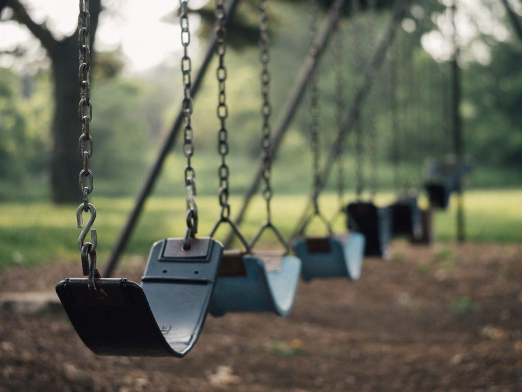 a swing set