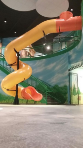 Church Spiral Slide