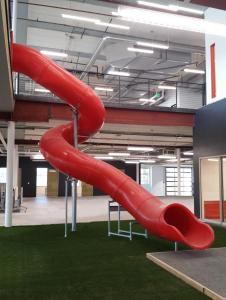 Indoor Spiral Slide