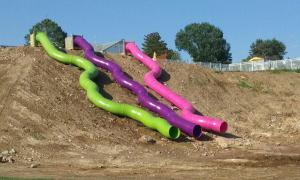Outdoor Hill Slides