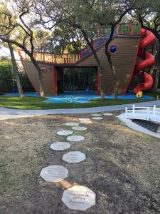 Outdoor Spiral Slide
